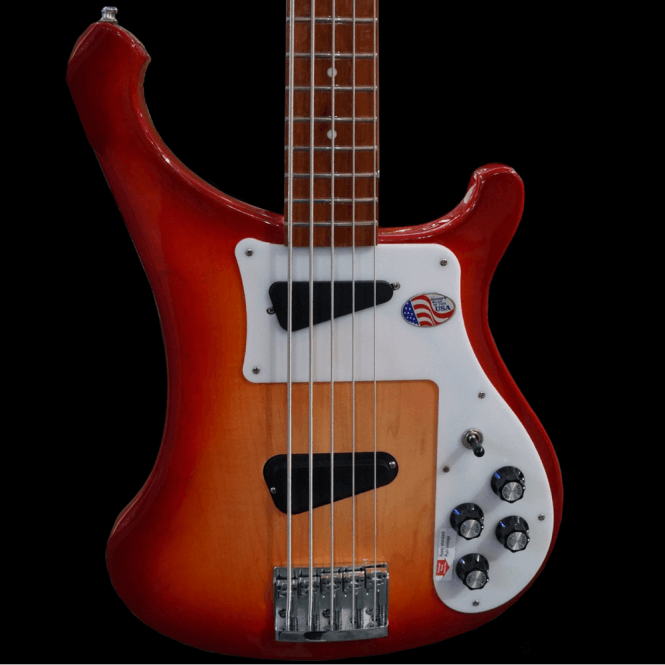 Rickenbacker 4003s5 Five String Electric Bass Guitar in Fireglo, Pre-Order