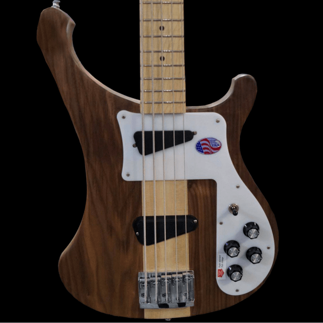 Rickenbacker 4003s5 Five String Electric Bass Guitar in Walnut, Pre-Order