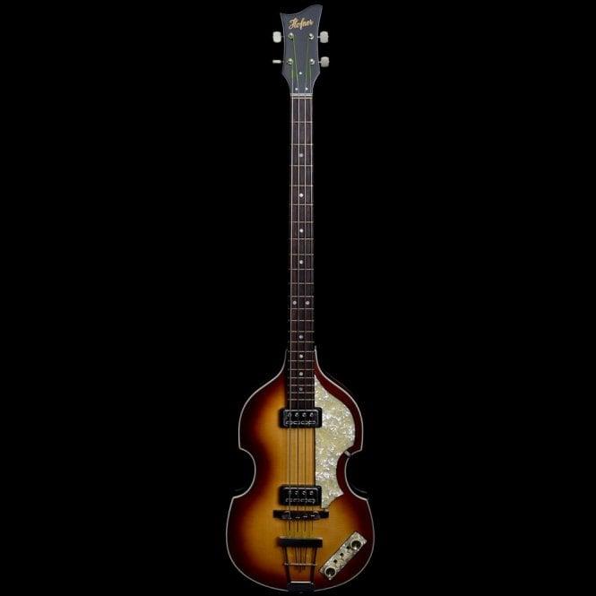 Hofner 1962 Reissue Violin Bass, Sunburst, Pre Owned