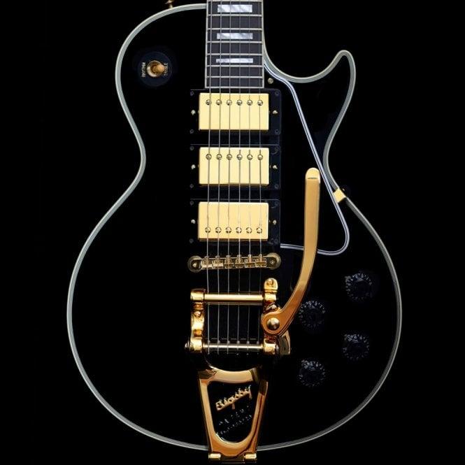 Gibson Custom Shop R7 LPB-3 1957 Reissue Black Beauty w/ Bigsby, Pre-Owned