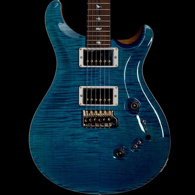 PRS Custom 24/08 Aquamarine Wood Library, Pre Owned