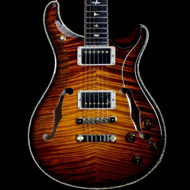 PRS Private Stock Private Stock Hollowbody II 594 Limited Edition, McCarty Glow Smoked Burst