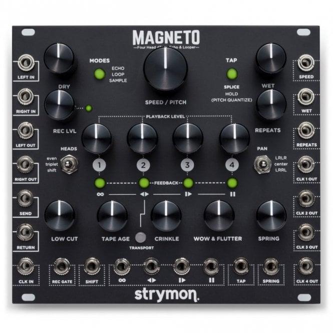 Strymon Magneto, Four Head d'Tape Echo & Looper Eurorack Module