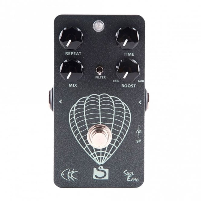 Electronic Soul Echo Guitar Delay Pedal