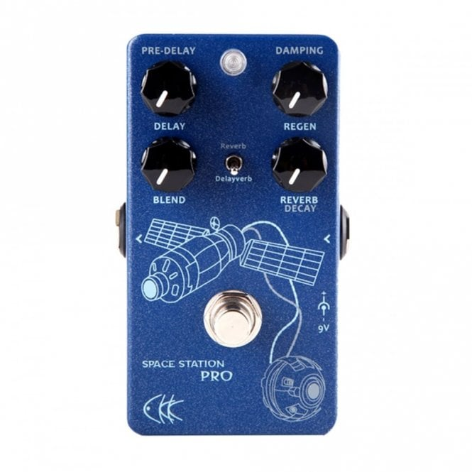 Electronic Space Station Pro Reverb/Delay Guitar Pedal