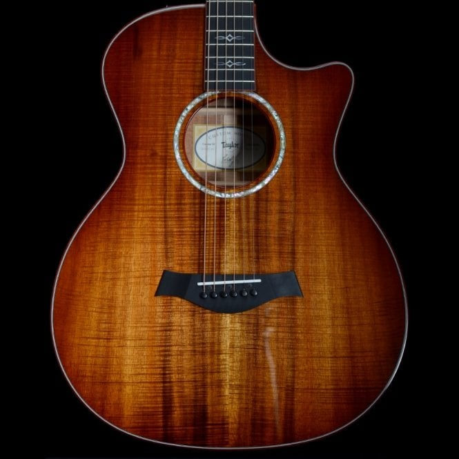 Taylor Custom 12-Fret AA Koa Grand Auditorium w/ Bloodwood Binding