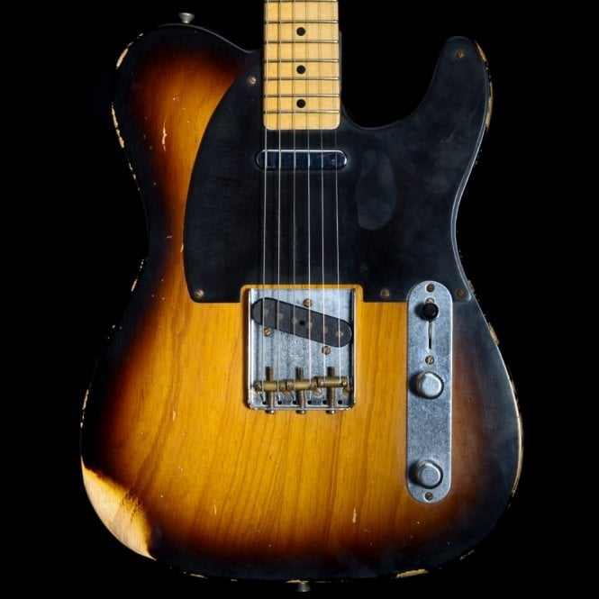 Fender Custom Shop 2008 '51 Reissue Nocaster Relic, 2 - Tone Sunburst