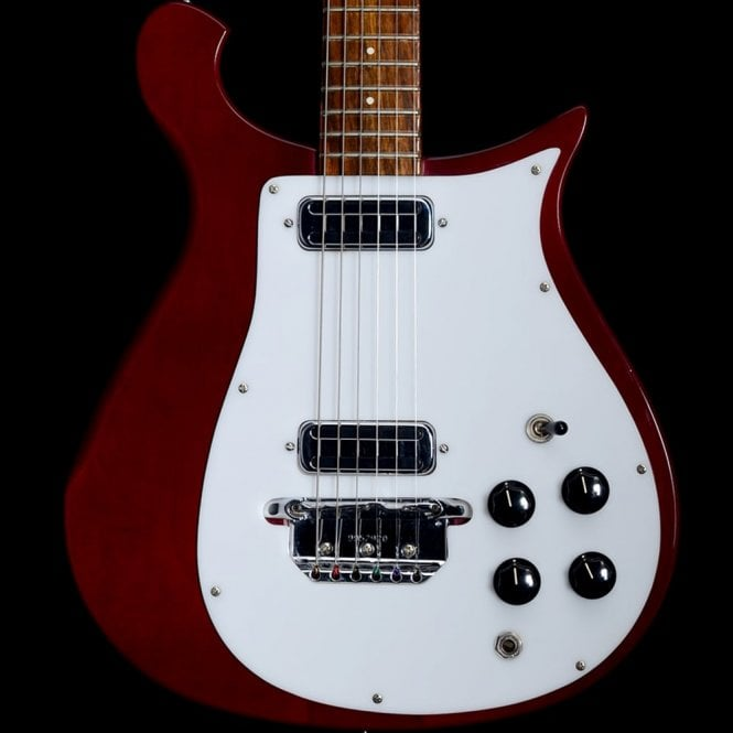 Rickenbacker 1999 450v63 Electric Guitar, Burgundy with Original Hard Case