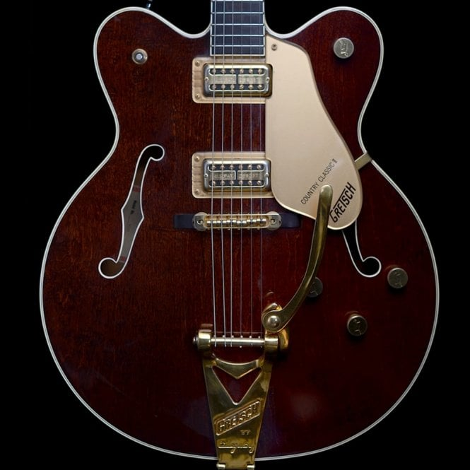 Gretsch 1990 6122 Country Classic II, Walnut Stain w/ Original Case - Pre-Owned