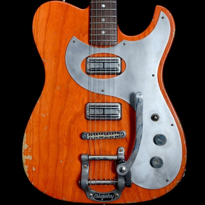 Fano Alto De Facto TC6 Medium Distressed Electric Guitar, Round Up Orange, Pre Owned