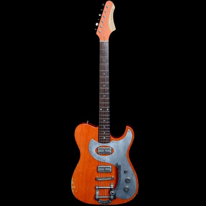 Fano Alto De Facto TC6 Medium Distressed Electric Guitar, Round Up Orange, Pre Owned