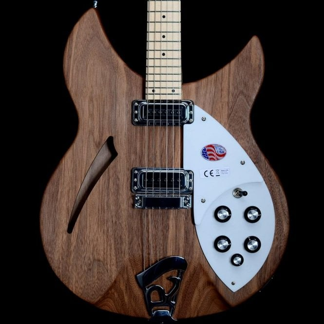 Rickenbacker 2018 330 6-String, Walnut w/ Maple Neck #18-11799