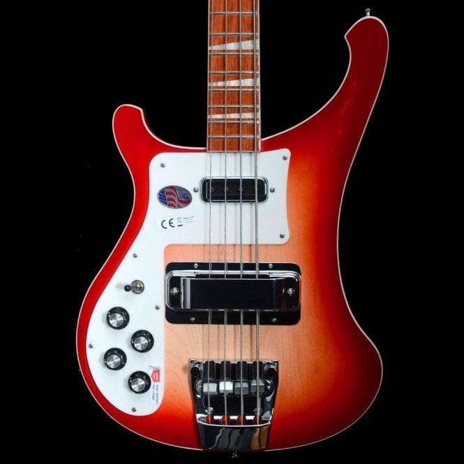 Rickenbacker 2018 4003L Left Handed Electric Bass Guitar #18-14714