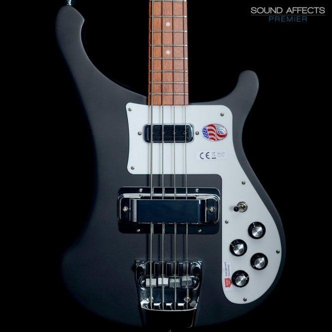 Rickenbacker 4003s Electric Bass Guitar 2018 Model, Matte Black Finish #1816749