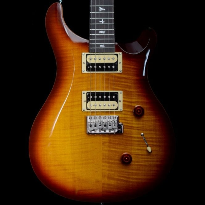 PRS SE 2018 Custom 24 Electric Guitar,  Tobacco Sunburst Finish S04150