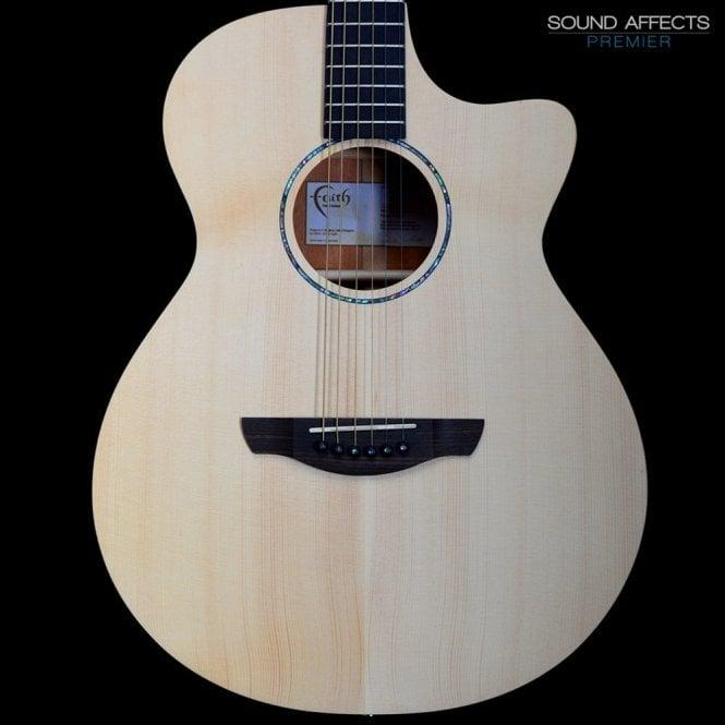 FKVCD - Faith Guitars Naked Venus Cut/Electro Cedar