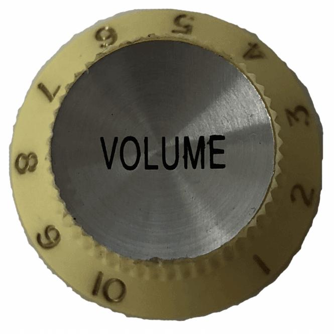 Hofner SINGLE Volume Knob - White (H90951WV)