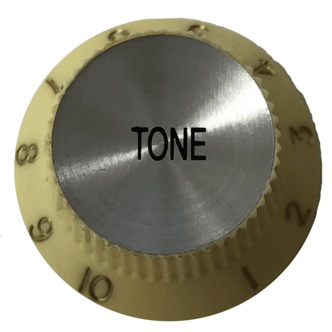 Hofner SINGLE Tone Knob - White (H90951WT)