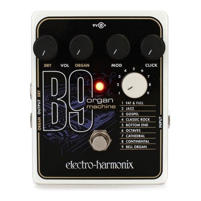 Electro Harmonix B9 Organ Machine Guitar Effects Pedal (B-Stock)