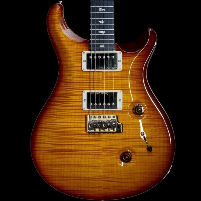 PRS 2011 Experience Custom 24 With Artist Grade Top, Gold Burst, Pre-Owned