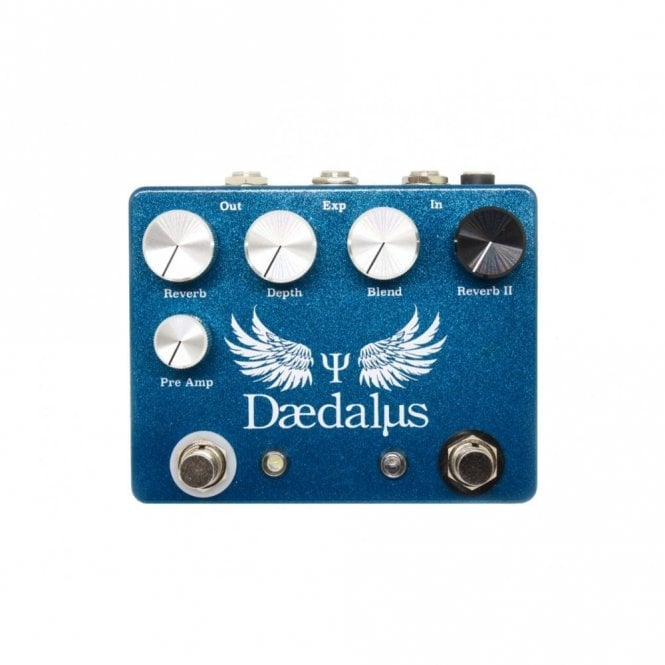 Coppersound Daedalus Dual Reverb Pedal