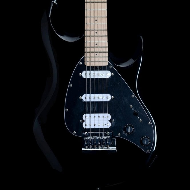 Music Man Sterling by Music Man Sub Series Silo3, Black HSS Electric Guitar
