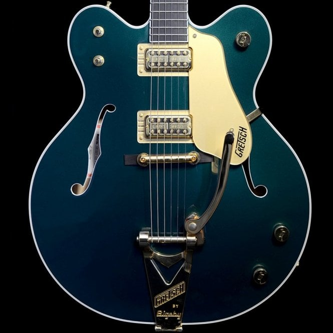 Gretsch Chet Atkins Country Gentleman G6122T-CG, Cadillac Green Metallic, Pre Owned