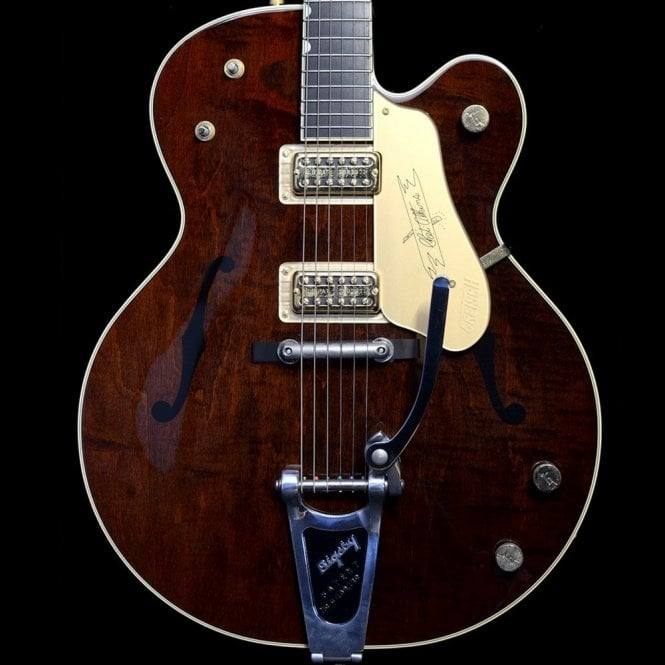 Gretsch 2011 G6122-1958 Re-Issue Country Gentleman, Walnut Stain, Pre-Owned