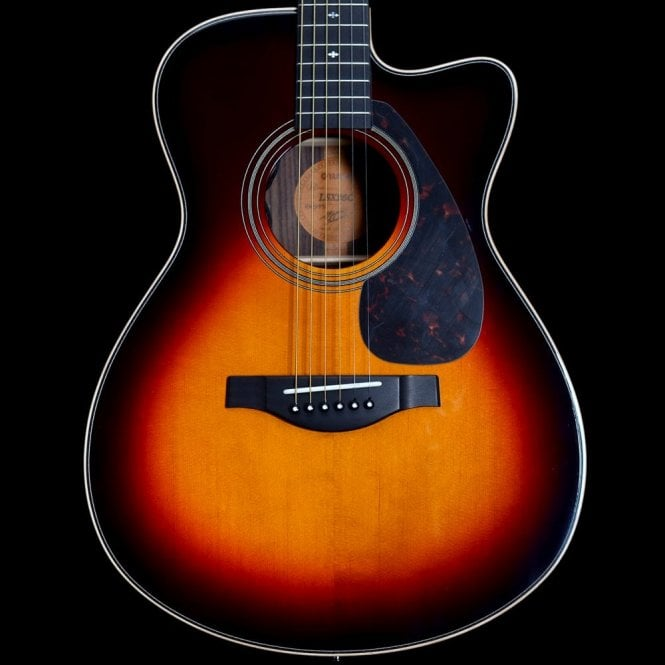 Yamaha L-Series LSX26C A.R.E Hand-Crafted Electro-Acoustic, Tobacco Sunburst