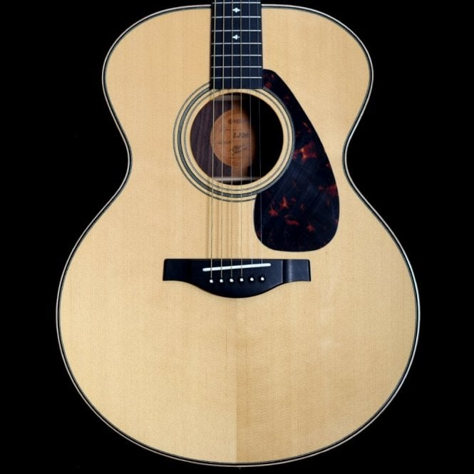 Yamaha Japan L-Series LJ26 A.R.E Hand-Crafted Medium Jumbo Acoustic Guitar