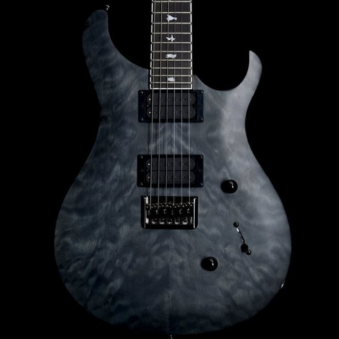 PRS SE Mark Holcomb Signature Stealth Limited Edition, Satin Grey Black, Ex-Display