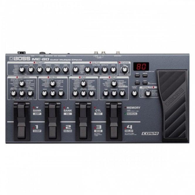 Boss ME-80 Multiple Guitar Effects Processor (Refurbished)
