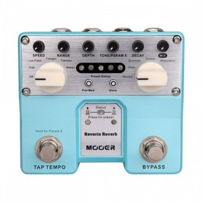 Mooer Pro Reverie Reverb Twin Pedal