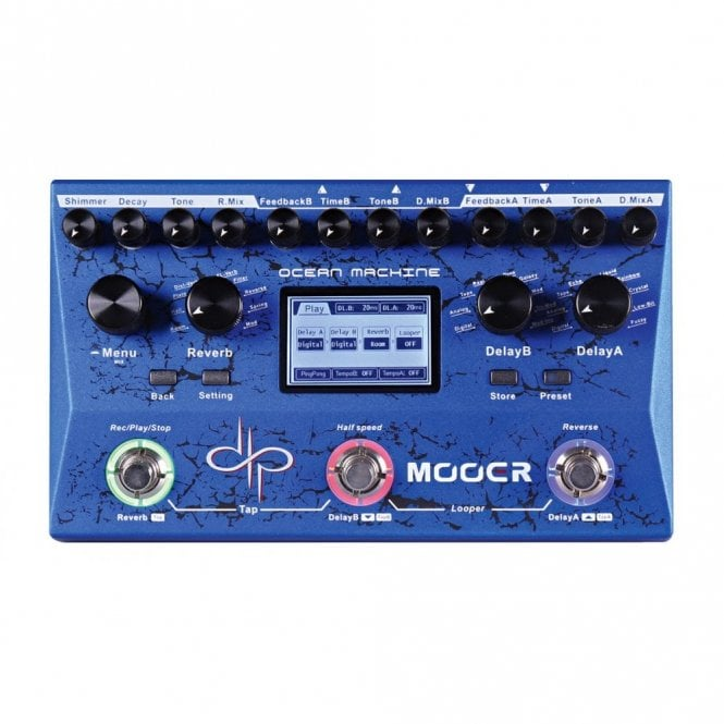 Mooer Ocean Machine Devin Townsend Delay & Reverb Pedal