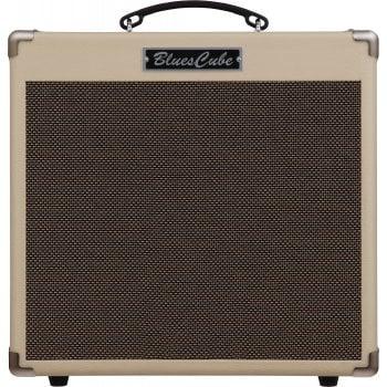roland blues cube hot guitar amplifier vintage blond no box. Black Bedroom Furniture Sets. Home Design Ideas