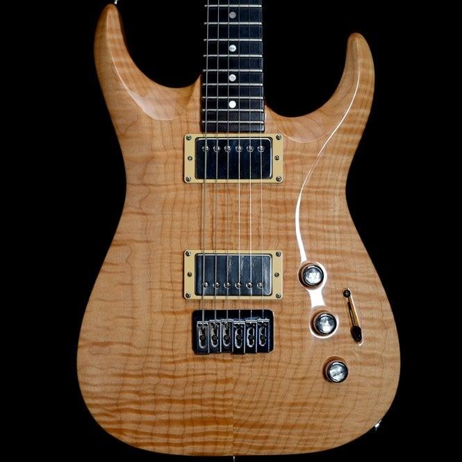 Jackson USA Custom Shop Swee-Tone Sweetone Soloist Electric Guitar, Natural