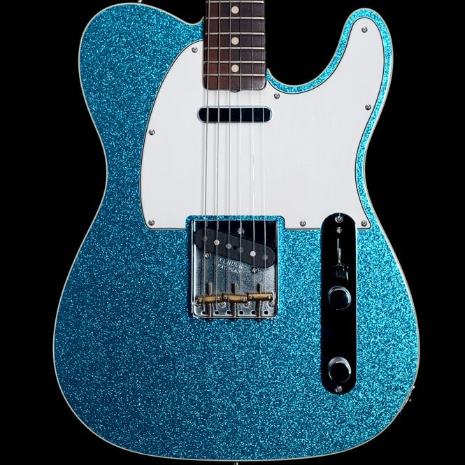 Fender Custom Shop 2010 1962 Reissue Bound Telecaster in Blue Sparkle, Pre-Owned