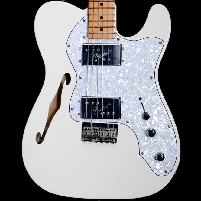 Fender 72 Thinline Limited Edition Telecaster in Arctic White, Pre-Owned