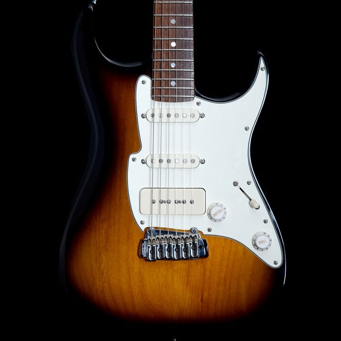 Blue Label Super 60 Electric Guitar in Two Tone Sunburst, Pre-Owned