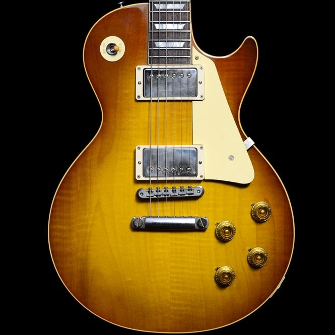 Gibson Custom Shop 1958 Reissue R8 Les Paul in Iced Tea, Pre-Owned