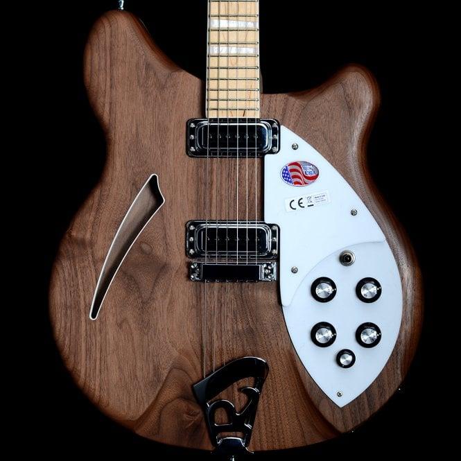 Rickenbacker 2018 360/6 Walnut 6-String Electric Semi-Hollow Guitar