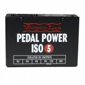 Pedal Power ISO-5 Power Supply for Pedalboards