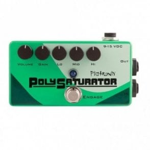 PolySaturator Overdrive Effects Pedal