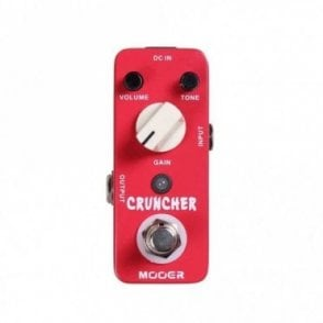 Cruncher Micro Series Distortion Pedal