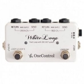 White Loop 2 Loop Flash Switcher with 2 DC Ouputs