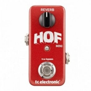 HOF Hall of Fame Mini Reverb Pedal