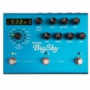 Big Sky Reverb Pedal