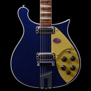 660 6-String Electric Guitar in Midnight Blue