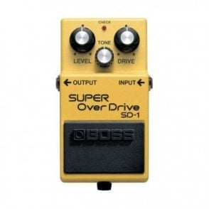 SD-1 Overdrive Pedal For Electric Guitar (B-Stock)