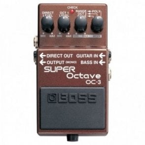 OC-3 Super Octave Guitar Effects Pedal